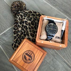 Jord Black Wood Watch